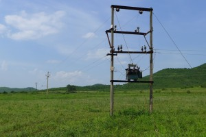 Power lines are few and far between for many rural communities